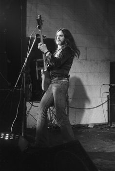 Lemmy of British rock band Motorhead performs at the Electric Circus in Manchester 5th August 1977