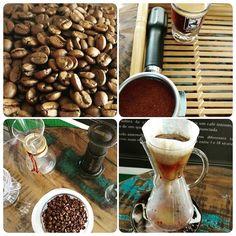 Dia nacional do café!!!! Bons cafés pra todo mundo! #inspiratocafe #cafesespeciais #dianacionaldocafe #espresso #chemex #aeropress http://ift.tt/1Vbg53z