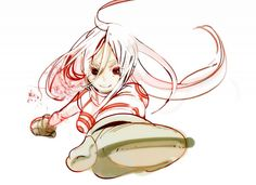 Tags: Anime, Deadman Wonderland, Shiro (Deadman Wonderland), Wretched Egg, Deadman Shiro Cosplay, Samurai Champloo, Deadman Wonderland, Pandora Hearts, Dead Man, Manga, Sword Art, Online Art, Comic Art