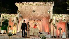 Wedding Stage Design, Wedding Stage Decorations, Backdrop Decorations, Backdrops, Indian Reception, Wedding Planning Websites, Best Wedding Photographers, Event Photos, Free Wedding