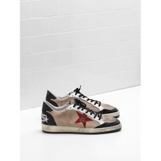 Golden Goose Pas Cher 2017 Golden Goose Homme Ball Star Sneakers G31MS592.F4 d7a946b6aed
