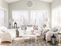 Spring Home Tour Stlyed with Lace