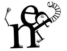 elephant word art?