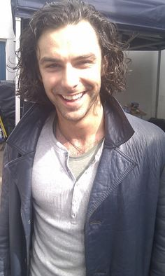 Aidan Turner ~ can't wait to see him in The Hobbit