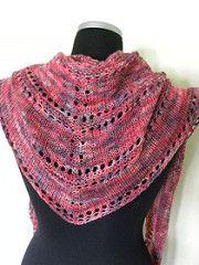 Ravelry: Azzu's Shawl pattern by Emma Fassio Knitted Shawls, Crochet Shawl, Crochet Stitches, Free Crochet, Knit Crochet, Knitting Designs, Knitting Projects, Knitting Patterns, Knitting Ideas