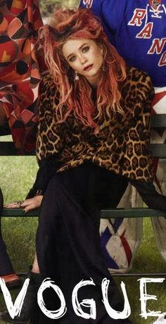 Mary-Kate Olsen Vogue