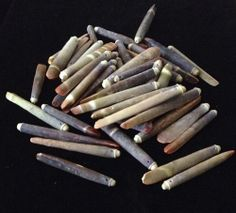 50 Small Top Drilled Sea Urchin Spines Lot #306
