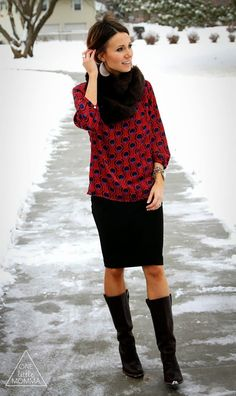 which boots with pencil skirt - Cerca con Google