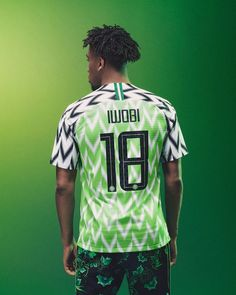 Nigeria s 2018 World Cup Kit was released today 9cfeb53e2