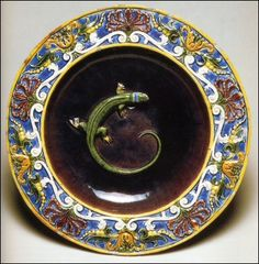 marinni   Bernard Palissy . 16 век. Французский фаянс.