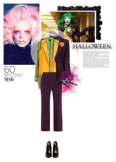 """Insane"" by crazydita ❤ liked on Polyvore featuring Givenchy, Claude Montana, Chicnova Fashion, Ralph Lauren Black Label, Joseph, Wyatt, Revolver, Halloween, 60secondstyle and superherocostume"