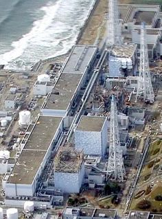 the Fukushima Daiichi nuclear plant as it looks today.