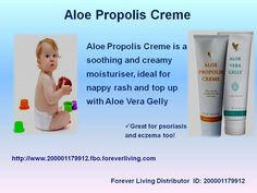 Aloe Propolis Creme Excellent as a skin moisturizer and conditioner, Aloe Propolis Creme is a rich blend of stabilized Aloe Vera Gel and Bee Propolis, with other ingredients recognized for their contribution to healthy skin.  Who but Forever Living Products could produce a moisturizer as unique as Aloe Propolis Creme? Combining our world leadership in Aloe Vera and beehive products, Aloe Propolis Creme is one of our most popular skin care products.