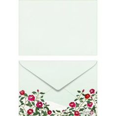 Camellia ISO C6 0004,Envelopes ,Card,green,multi-purpose,C6 size envelope,flower,camellia,Snow