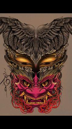 Om Tattoo Design, Tattoo Designs, Bamboo Tattoo, Asian Tattoos, Samurai Tattoo, Tattoo Sketches, Asian Style, Buddha, Oriental