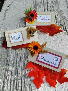 Thanksgiving name plates