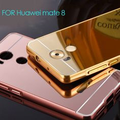 Huawei mate 8 case Metal Aluminum+Plating mirror Back Cover Accessories Hybrid Luxury Full protection Case for Huawei mate 8-in Phone Bags & Cases from Phones & Telecommunications on Aliexpress.com | Alibaba Group