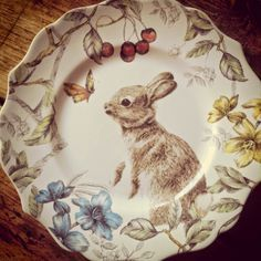 ~Magical Home Inspirations~ : Photo Estilo Kitsch, Lapin Art, Woodlands Cottage, Magical Home, Mourning Dove, Bunny Art, China Painting, Easter Table, China Patterns