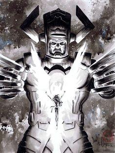 Phoenix vs Galactus