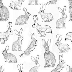 #rabbits #pattern