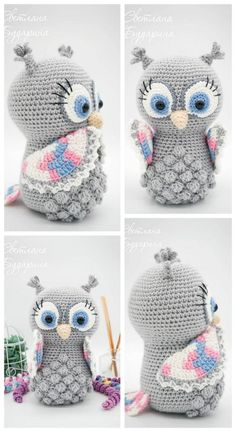 Amigurumi Animal 20 Top Best Free Patterns – Amigurumi Free Patterns - Knitting and Crochet Crochet Crafts, Crochet Dolls, Crochet Baby, Free Crochet, Owl Crochet Pattern Free, Single Crochet, Amigurumi Patterns, Doll Patterns, Knitting Patterns
