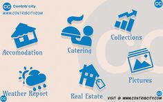 #Accommodation #Catering Services Details   #Collections about all #word  #information #RealEstate at #affordable cost #Weatherforecast for all #cities  Visit @ www.contribcity.com Weather Report, Weather Forecast, Catering Services, Cities, Real Estate, Collections, Words, Weather Predictions, Real Estates