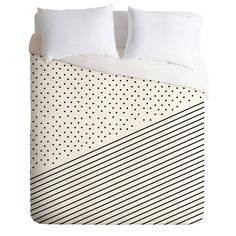 Allyson Johnson Opposites Attract Duvet Cover | DENY Designs Home Accessories