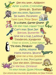 See Ya Later Alligator Classroom Poster - Kinderbetreuung See You Later Alligator, Classroom Posters, Classroom Door, Bye Bye, In Kindergarten, Toddler Activities, Kids And Parenting, Foster Parenting, Parenting Goals