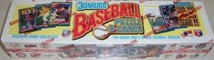 1991 Donruss MLB Baseball Hobby Factory Set with 784 Cards in MINT Condition ! Plus this Factory Sealed Set includes 4 Bonus 1991 Leaf Preview Cards and 2 Willie Stargell Puzzles! This Awesome Factory Set is Absolutely Loaded with Superstars and Hall of Famers including Cal Ripken,Ken Griffey Jr, Nolan Ryan, Barry Bonds,Fank Thomas,Mark Mcgwire,Ozzie Smith,Ryne Sandberg, George Brett, Roger Cle.... $14.99. Wowzzer!! We are proud to offer this 1991 Donruss MLB Baseball Factory ...