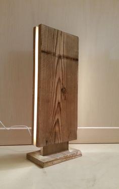 "Reclaimed wood led lamp ""Mag¹t"""