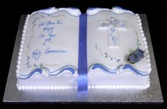 holy communion cakes designs | ... customised cakes by jen first holy communion cake the celebration cake