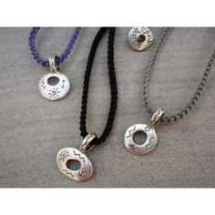 Babylonia popular silver handmade necklaces with symbols