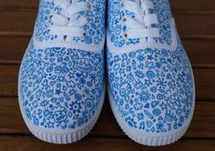 lcadelo | zapatillas pintadas a mano