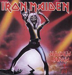 iron maiden/Paul Dianno photos | Iron Maiden- Maiden Japan album w/ the decapitated Paul Dianno cover ...