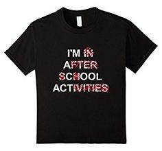 Amazon.com: Kids I'm a Cool Act School Activities Funny T-Shirt: Clothing