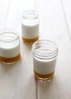 Mango Coconut Panna Cotta. Tessa Huff- Style Sweet Ca for Brit + Co.