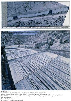 Christo Sopra il fiume, Progetto per Arkansas River, Stato del Colorado