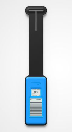British Airways Electronic Luggage Tag by Designworks