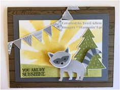 OnStage 2016 Display Sample, Stampin' Up! AC 2016 sneak peak, Foxy Friends.