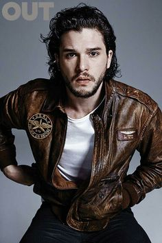 Kit Harington for Out Magazine
