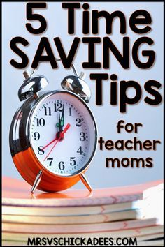 5 Time Saving Tips f