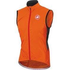 Sometimes your core needs an extra layer between it and Mother Nature's varying conditions. A base layer won't keep the drizzle away, but a full jacket is overkill. Castelli's Velo Vest is a lightweight breathable alternative that easily packs in your pocket when the sun starts to shine. Zip it up over a long sleeve jersey and be prepared for impromptu drizzle.  Castelli used Forcefield Fabric to construct the Velo Vest. This extremely lightweight fabric is a 30 gram, ripstop material t...