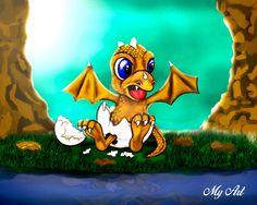 Dragon-terminado by Claudiomyart