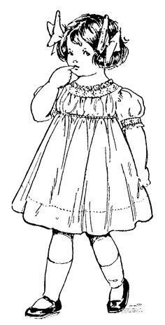 Cute Vintage Girl