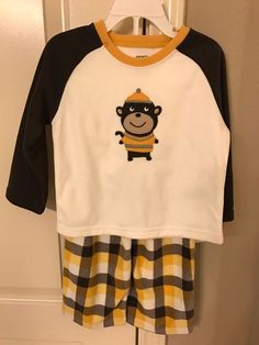 NWT Carter s Boy Fleece 2 piece Pajamas Set Monkey Size 2T  fashion   clothing  shoes  accessories  babytoddlerclothing  boysclothingnewborn5t  (ebay link) 8a750939e