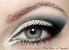 eyeliner illusion makeup