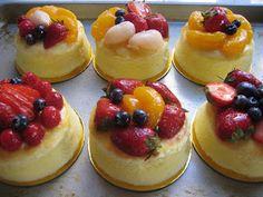 Mini Japanese Cheesecakes