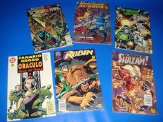 Lote de comics DC comics 6 novelas graficas variadas ediciones zinco