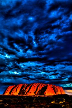 Uluru Sunset HDR