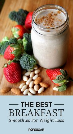 10 Breakfast Smoothies That Will Help You Lose Weight